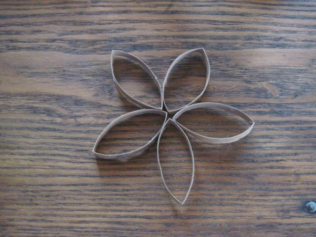 how to make a flower out of cardboard