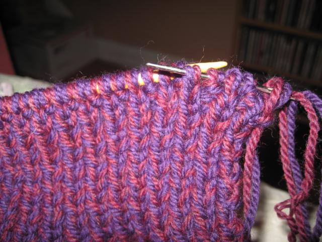 Knitting Slip Stitches Onto A Thread : How To Knit Your Own Slippers - Simply Rurban Simply Rurban