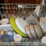 Dishwasher top shelf
