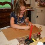Cardboard ruler
