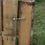Compost bin latch