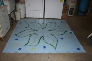 Floorcloth done