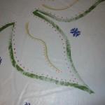 Floorcloth inside leaf color