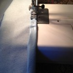 Floorcloth sew