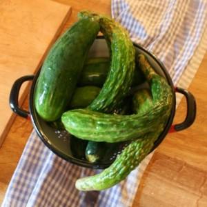 P cukes cucumbers