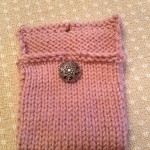 T purse button on