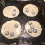 Pancakes cooking