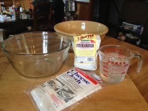 Sourdough starter ingredients