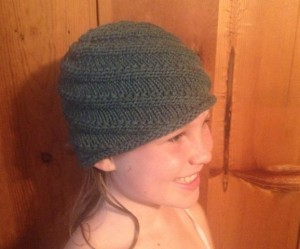 Swirl hat done