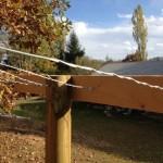 Arbor wire on t
