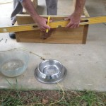 Cold frame measuring sides