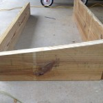 Cold frame side