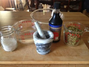 Tamari nuts ingredients