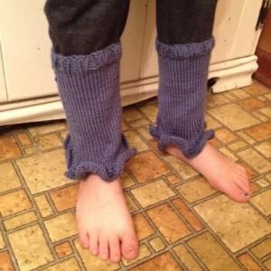 K leg warmer done