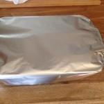 Lasagna tin foil