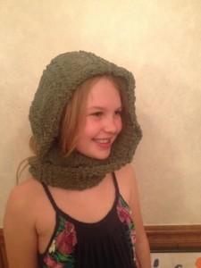 K infinity scarf head