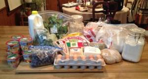 Food challenge 1 groceries
