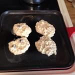 Food challenge bfast 1 on pan