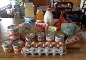Food challenge week 3 groceries
