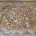 Cinnamon bun inside