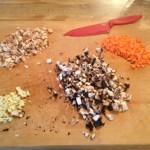 Kale chick mushrooms