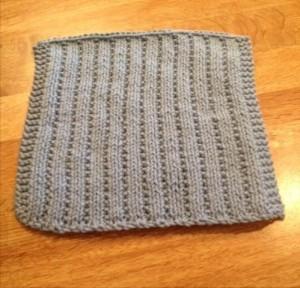Washcloth done