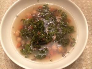 kale chick served