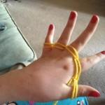 Finger double weave