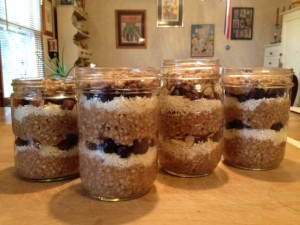 Oats to go filled