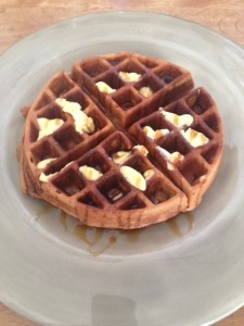 Waffle done