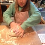 Pretzel knead