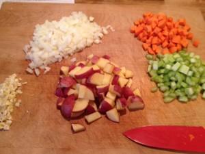 Kale ingredients
